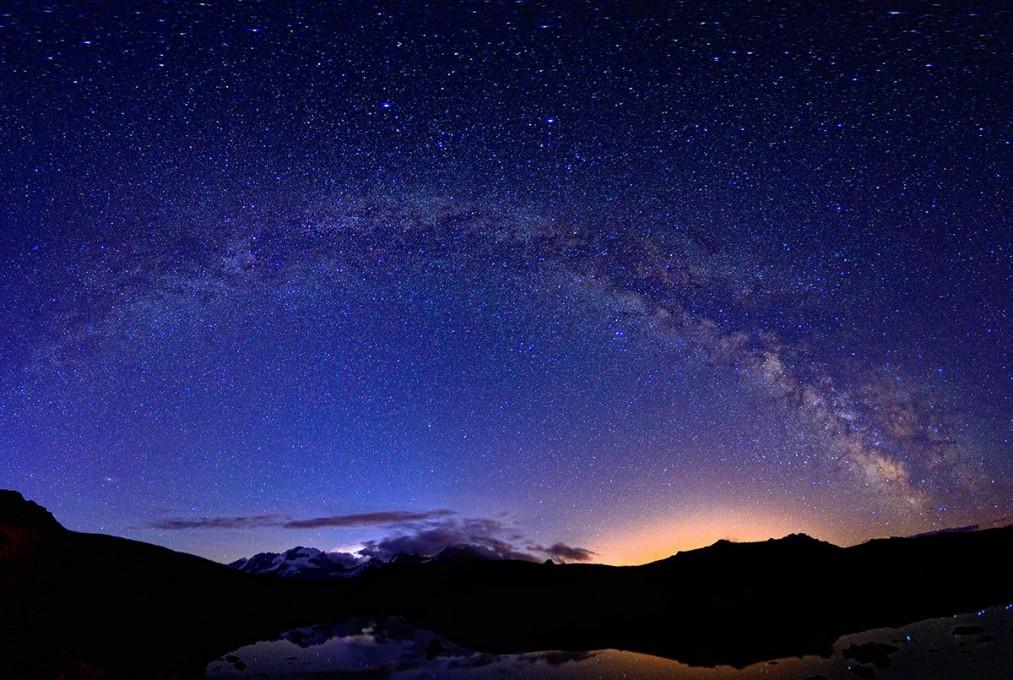 Milky Way at 2900m from Gran Paradiso National Park - Italy