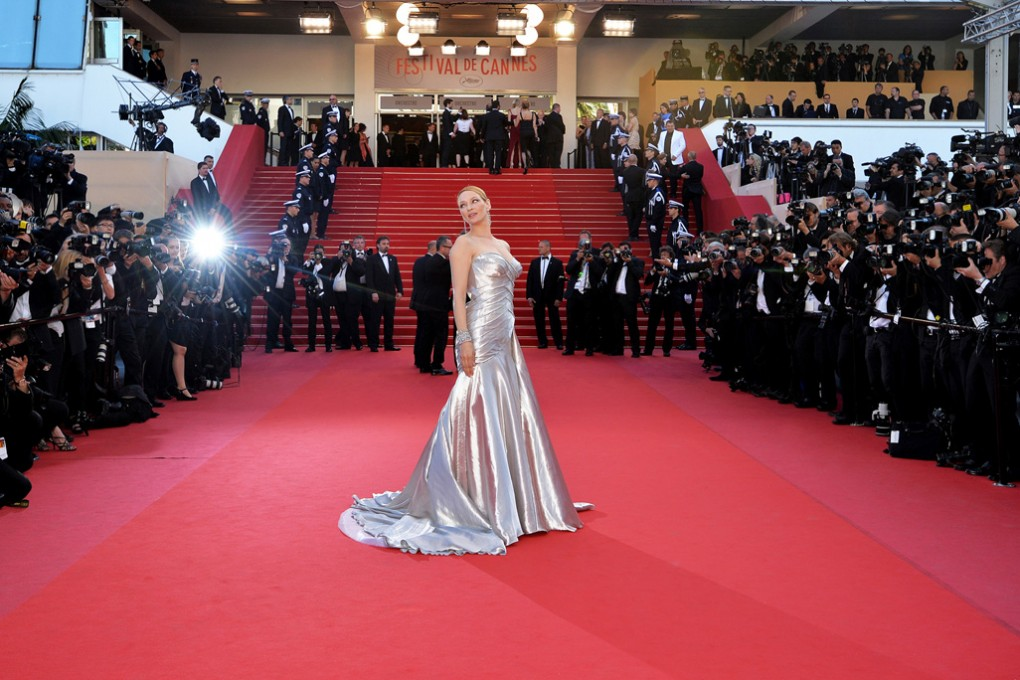 Uma Thurman, Cannes Film Festival, France.