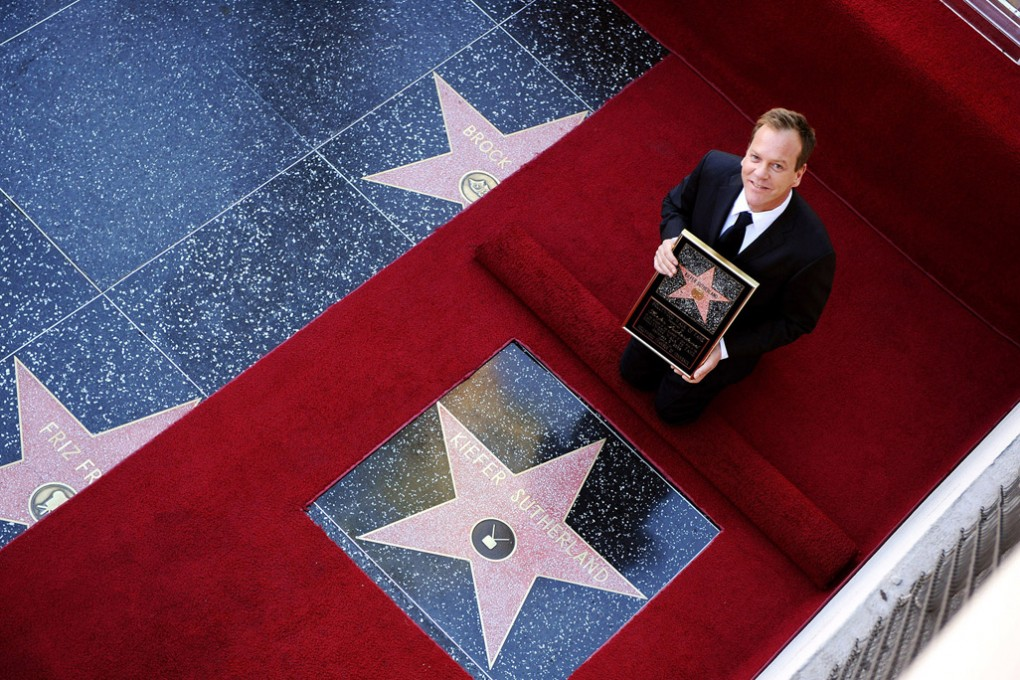 Kiefer Sutherland is Honored with the 2377th Star on The Walk Of Fame