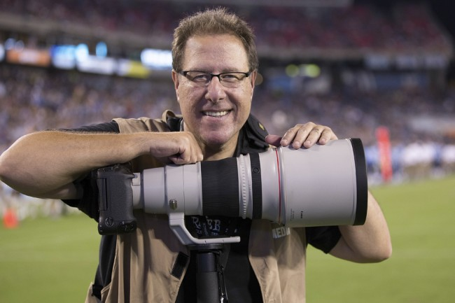 Scott Kelby, freelance sports photographer and business owner