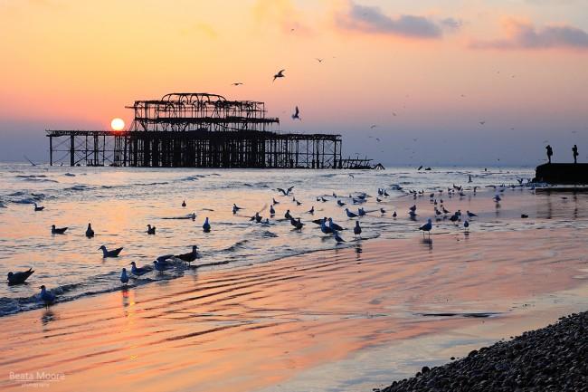 Brighton West Pier - England