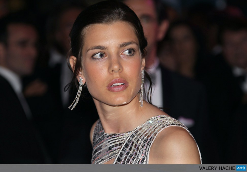 Princess Charlotte Casiraghi, niece of Prince Albert II of Monaco, arrives for the annual Rose Ball at the Monte-Carlo Sporting Club in Monaco, on March 27, 2010. The Rose Ball is one of the major charity events in Monaco. Created in 1954, it benefits the Princess Grace Foundation.