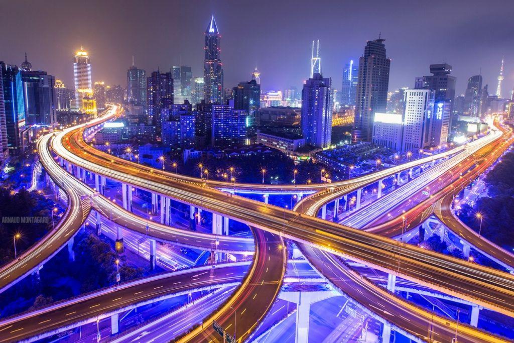 Traffic Jam,  Shanghai