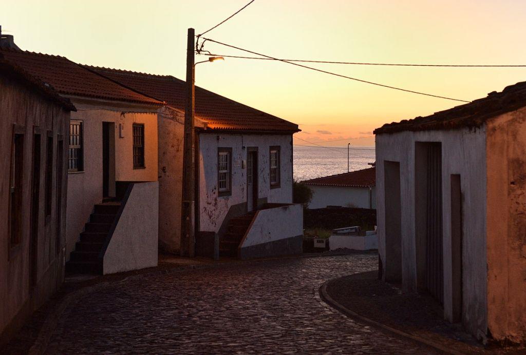 Faja Grande at sunset, Flores island, Azores
