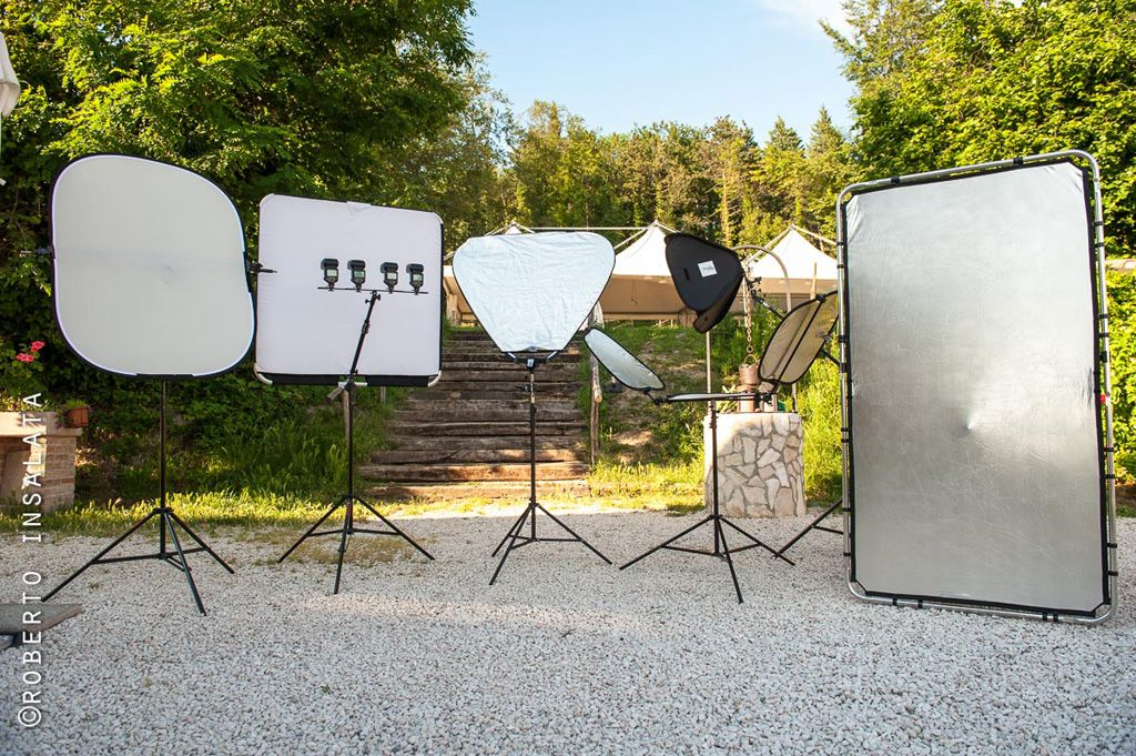 Some of the light modifiers available in the Lastolite Professional catalogue