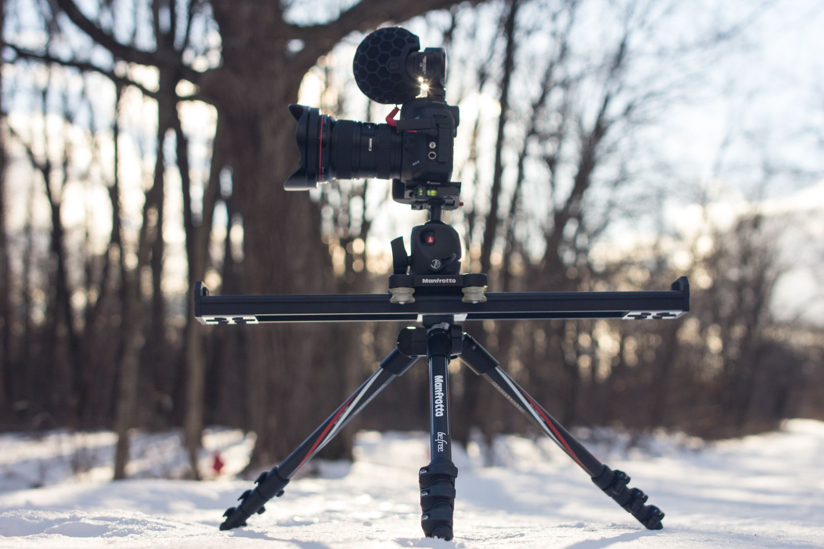 (Suburbs of Chicago, IL) {Pictured: Rode Stereo Mic X, Canon 5dmiii, Manfrotto XPRO ball head, 60cm slider, BeFree CF tripod}