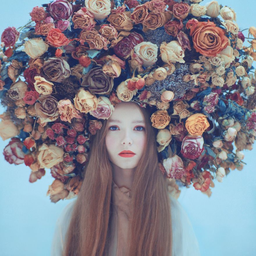 Oprisco handles all aspects of a shoot himself