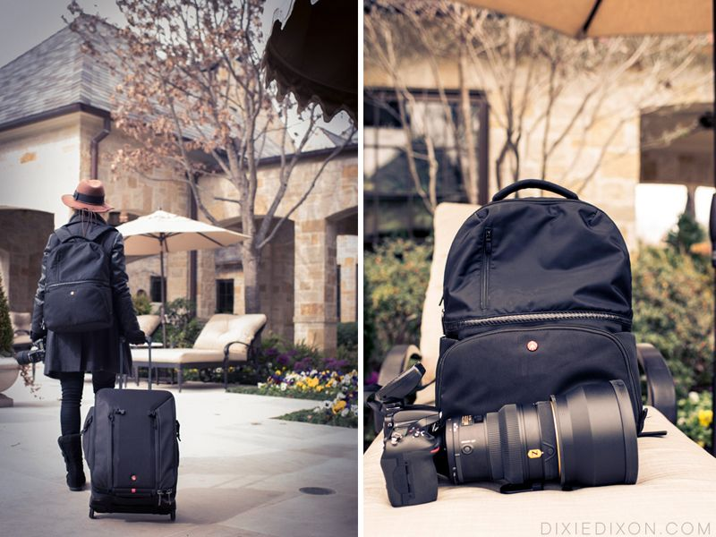 Travel, Manfrotto Bags, Professional Roller Bag 70, Advanced Active Backpack I