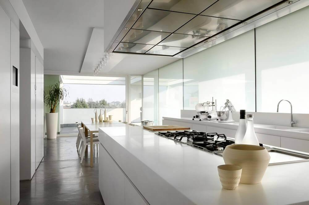This kitchen was shot with a 24mm PC lens to keep the vertical lines straight a small aperture to ensure a good depth of field and a polarising filter to ... & Interior Photography - Part One - Manfrotto School Of Xcellence