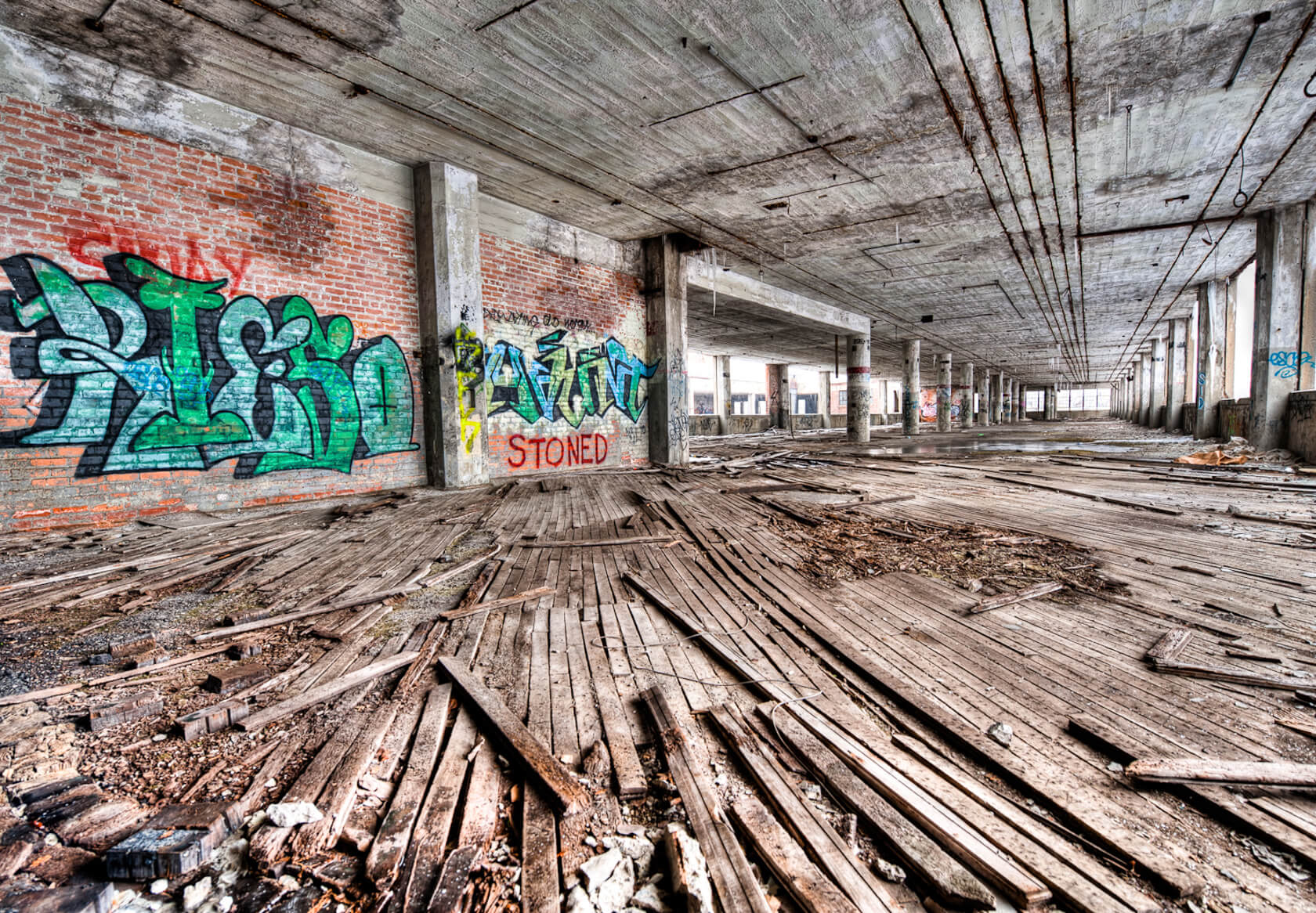 Photographing Abandoned Buildings Has Become Increasingly Popular Over The Last Decade As Urban Exploration Has Carved A Niche For Itself In The