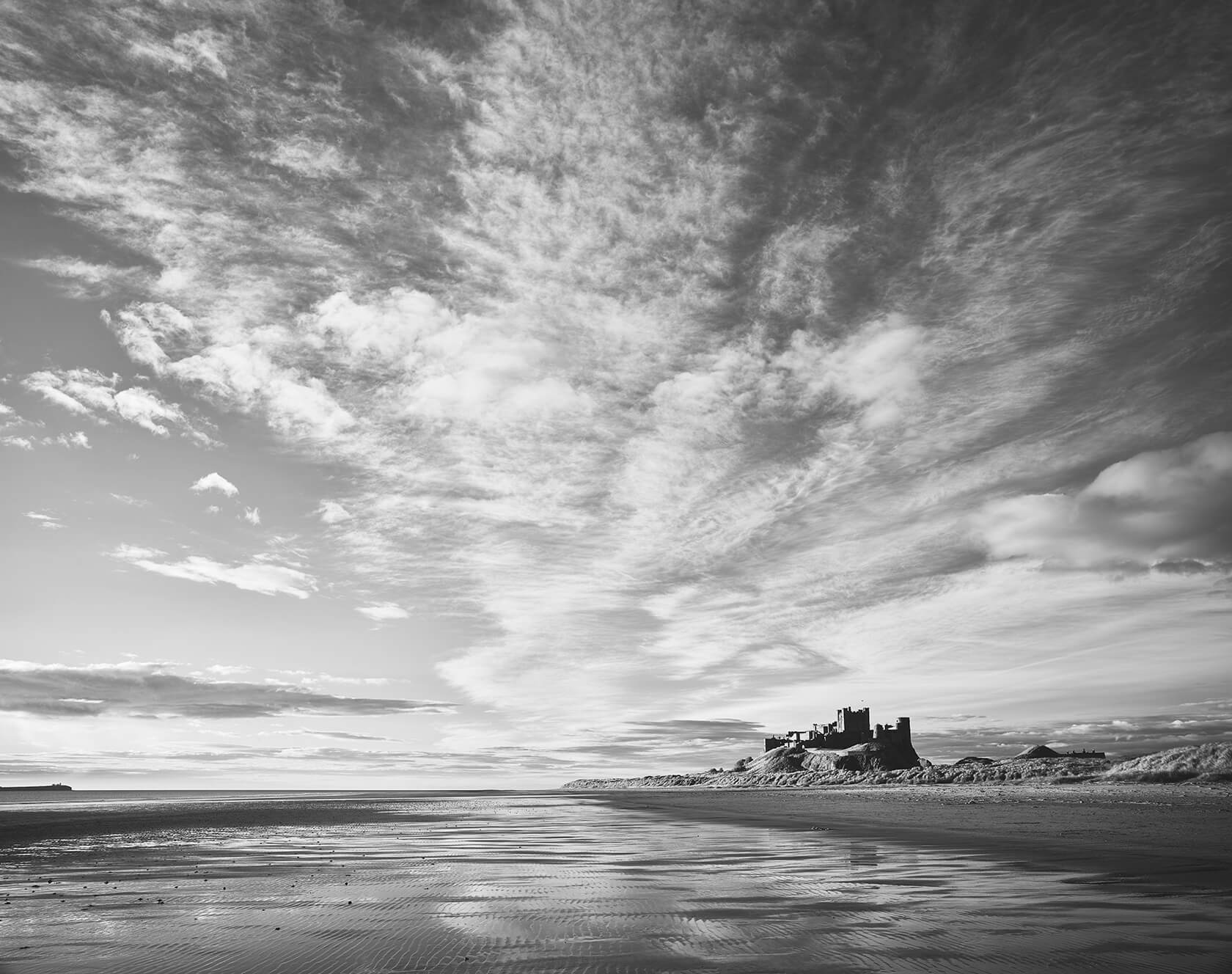 steve Gosling Good Morning Clouds Bamburgh