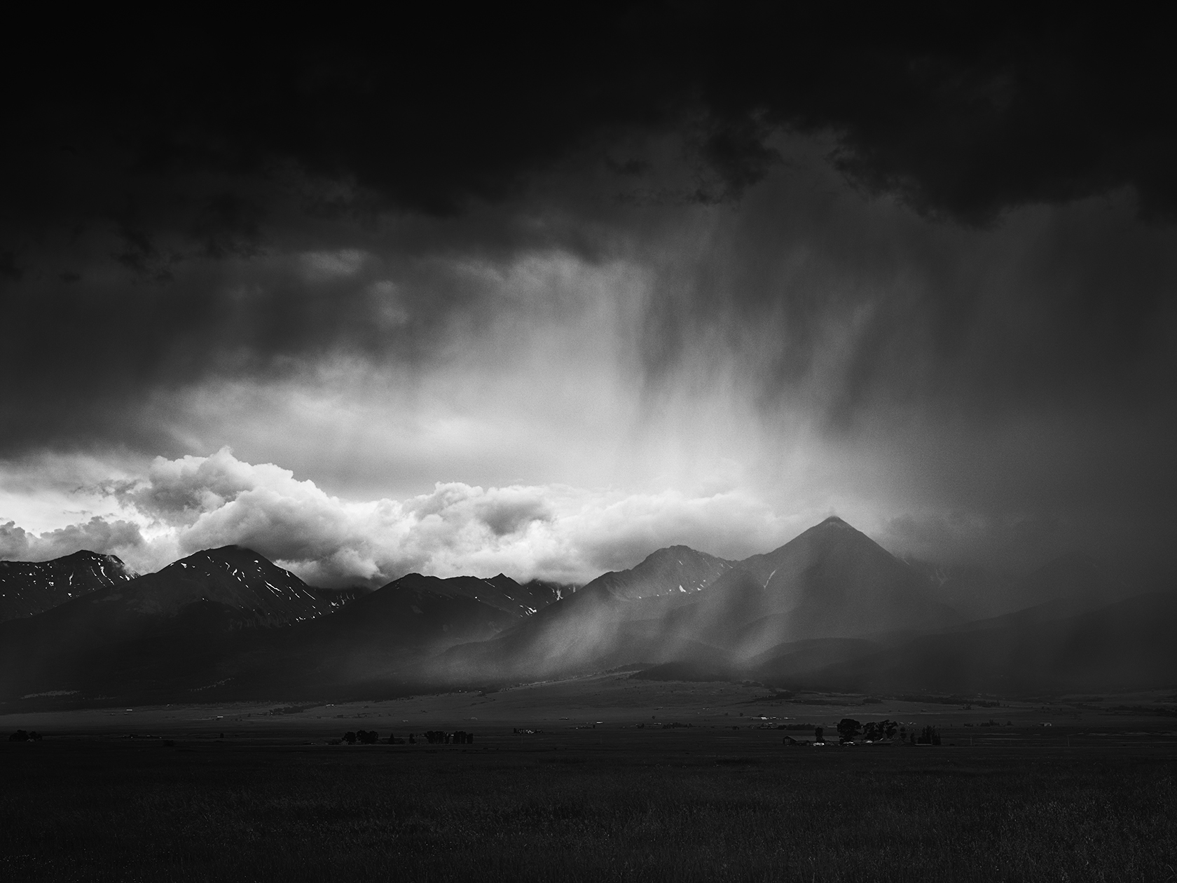 Rule 10 Storm Approaching Sangre de Cristo Mountains