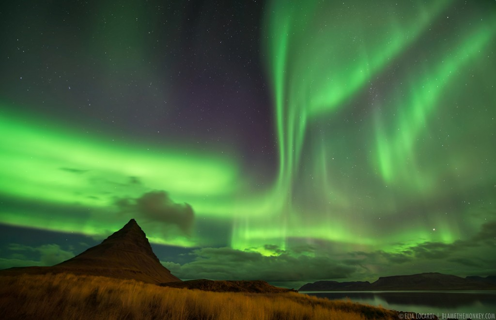 Heaven and Earth - (Aurora Borealis, Iceland)