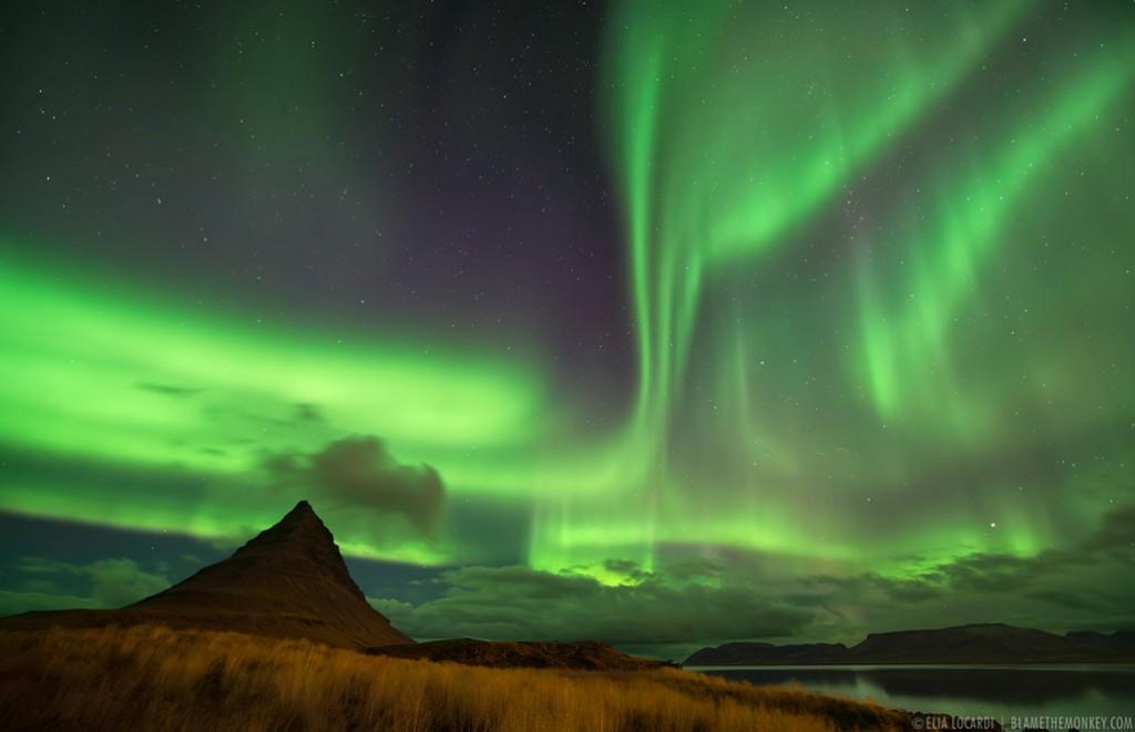 Heaven and Earth - (Aurora Borealis, Iceland)