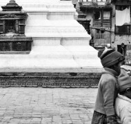 Children playing in Kathmandu
