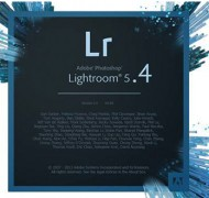Lightroom 5.4