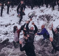 Shrovetide Football in Derbyshire, England.