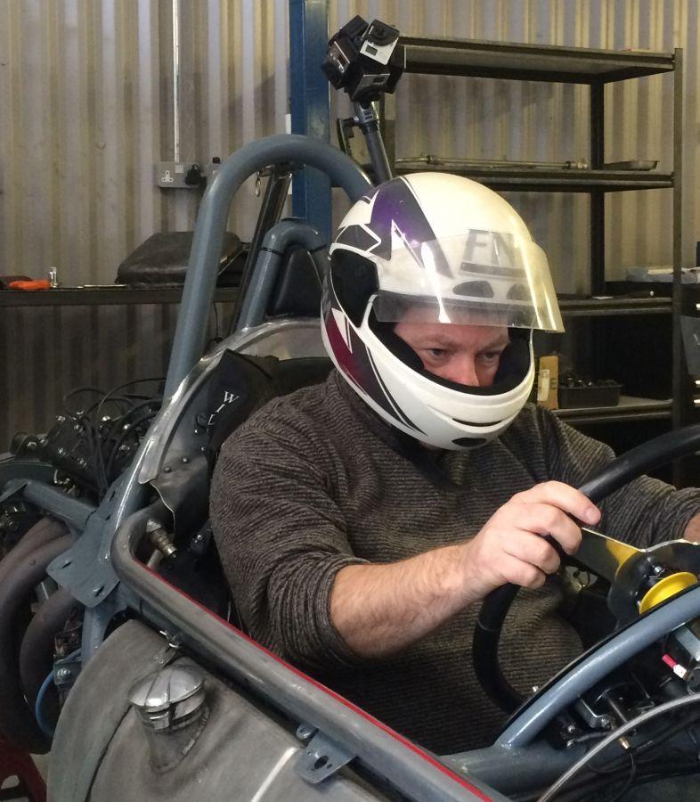 Testing the car