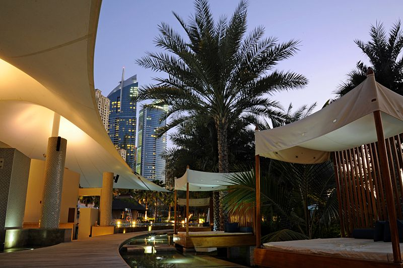 Dusk at the Ritz-Carlton, Dubai